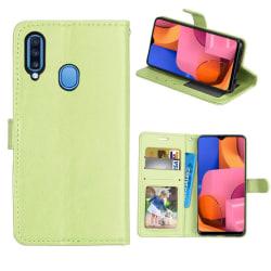Mobilplånbok 3-kort Samsung Galaxy A20s Grön