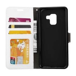 Mobilplånbok 3-kort Samsung Galaxy A6 2018 (SM-A600F) Vit