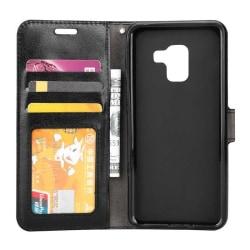 Mobilplånbok 3-kort Samsung Galaxy A6 Plus 2018 (SM-A610F) Svart