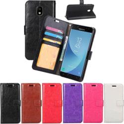 Mobilplånbok 3-kort Samsung Galaxy J7 2017 (SM-J730F) Svart