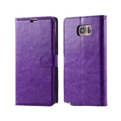Mobilplånbok 3-kort Samsung Galaxy Note 5 (SM-920C) Lila