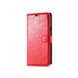 Mobilplånbok 3-kort Samsung Galaxy Note 5 (SM-920C) Röd