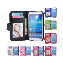 Mobilplånbok 3-kort Samsung Galaxy S4 (GT-i9500) Vit