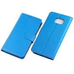 Mobilplånbok 3-kort Samsung Galaxy S6 Edge Plus (SM-G928F) Blå