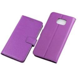 Mobilplånbok 3-kort Samsung Galaxy S6 Edge Plus (SM-G928F) Lila