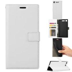 Mobilplånbok 3-kort Sony Xperia XZ1 (G8341) Vit