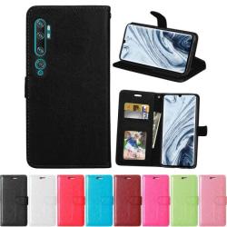Mobilplånbok 3-kort Xiaomi Mi Note 10 Pro Brun