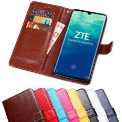 """Mobilplånbok 3-kort ZTE Axon 10 Pro (6.47"""") Svart"""