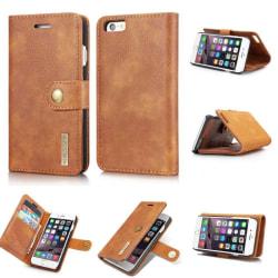 Mobilplånbok DG-Ming 2i1 Apple iPhone 6+,6S Plus Brun