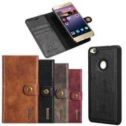 Mobilplånbok DG-Ming 2i1 Huawei Honor 8 Lite/P8 Lite 2017 Svart