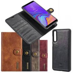 Mobilplånbok DG-Ming 2i1 Samsung Galaxy A7 2018 (SM-A750F) Grå
