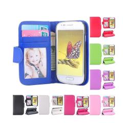 Mobilplånbok Foto Samsung Galaxy S3 Mini (GT-i8190) Vit