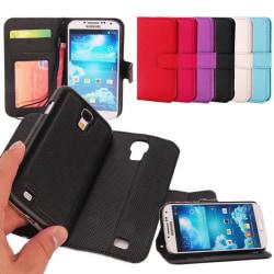Mobilplånbok magnetisk 2i1 Samsung Galaxy S4 (GT-i9500) Rosa