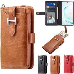 Multiplånbok 3i1 9-kort Samsung Galaxy Note 10 (SM-N970F) Brun