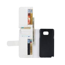 Multiplånbok 7-kort Samsung Galaxy Note 5 (SM-920C) Vit