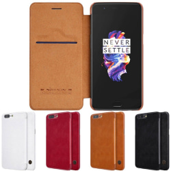 Nillkin Qin FlipCover OnePlus 5 (A5000) Svart
