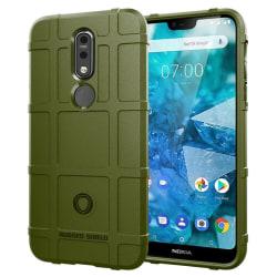 Rugged Shield skal Nokia 7.1 2018 (TA-1095) Grön