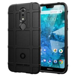 Rugged Shield skal Nokia 7.1 2018 (TA-1095) Svart
