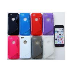 S Line silikon skal Apple iPhone 5C Lila