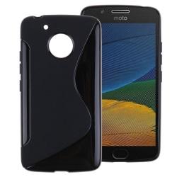 S Line silikon skal Motorola Moto G5 (XT1670) Svart