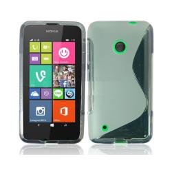 S Line silikon skal Nokia Lumia 530 (RM-1017) Transparent