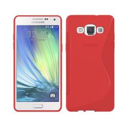 S Line silikon skal Samsung Galaxy A3 2015 (SM-A300F) Röd