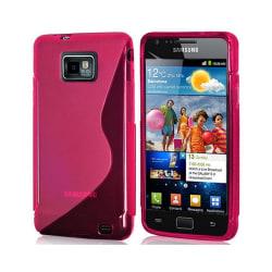 S Line silikon skal Samsung Galaxy S2 (GT-i9100) Rosa