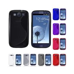 S Line silikon skal Samsung Galaxy S3 (GT-i9300) Lila