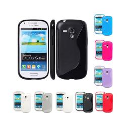 S Line silikon skal Samsung Galaxy S3 Mini (GT-i8190) Lila
