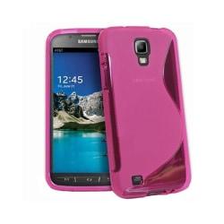 S Line silikon skal Samsung Galaxy S4 Active (GT-i9295) Rosa