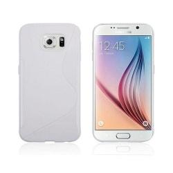 S Line silikon skal Samsung Galaxy S6 (SM-G920F) Vit