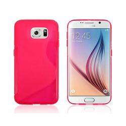 S Line silikon skal Samsung Galaxy S6 (SM-G920F) Rosa