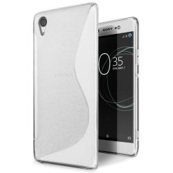 S Line silikon skal Sony Xperia XA1 (G3121) Transparent