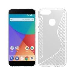S Line silikon skal Xiaomi Mi A1 Transparent