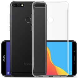 Silikon skal transparent Huawei Y6 2018 (ATU-L21)