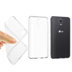 Silikon skal transparent LG X Screen (K500N)
