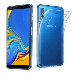 Silikon skal transparent Samsung Galaxy A7 2018 (SM-A750F)