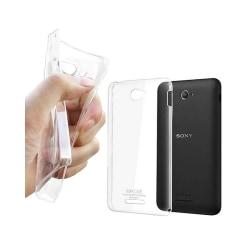 Silikon skal transparent Sony Xperia E4 (E2105)