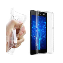 Silikon skal transparent Sony Xperia M5 (E5663)
