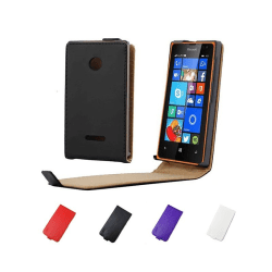 Sligo FlipCase Microsoft Lumia 435 (RM-1070) Svart