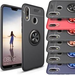 Slim Ring Case Huawei P30 (ELE-L29) Blå