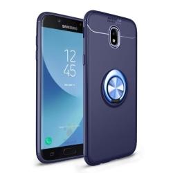 Slim Ring Case Samsung Galaxy J7 2017 (SM-J730F) Blå