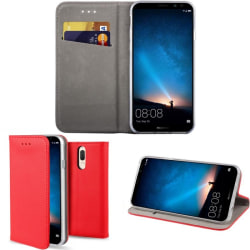 Smart Magnet FlipCase Huawei Mate 10 Lite (RNE-L21)  - Red