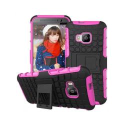Stöttåligt skal med ställ HTC ONE M9 Rosa