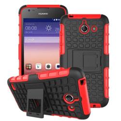 Stöttåligt skal med ställ Huawei Ascend Y550 Röd