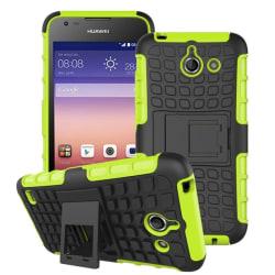 Stöttåligt skal med ställ Huawei Ascend Y550 Grön