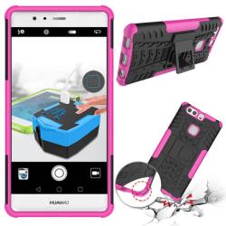 Stöttåligt skal med ställ Huawei P9 Plus (VIE-L29) Rosa