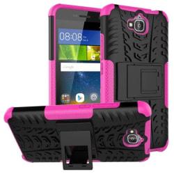 Stöttåligt skal med ställ Huawei Y6 Pro (TIT-L01) Rosa