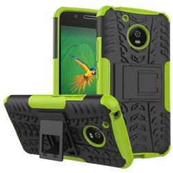 Stöttåligt skal med ställ Motorola Moto G5 (XT1670) Grön