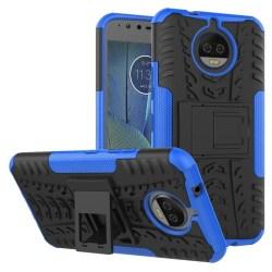 Stöttåligt skal med ställ Motorola Moto G5s Plus (XT1805) Blå